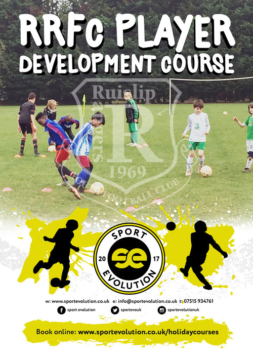 Ruislip Rangers Easter Holiday Football Courses