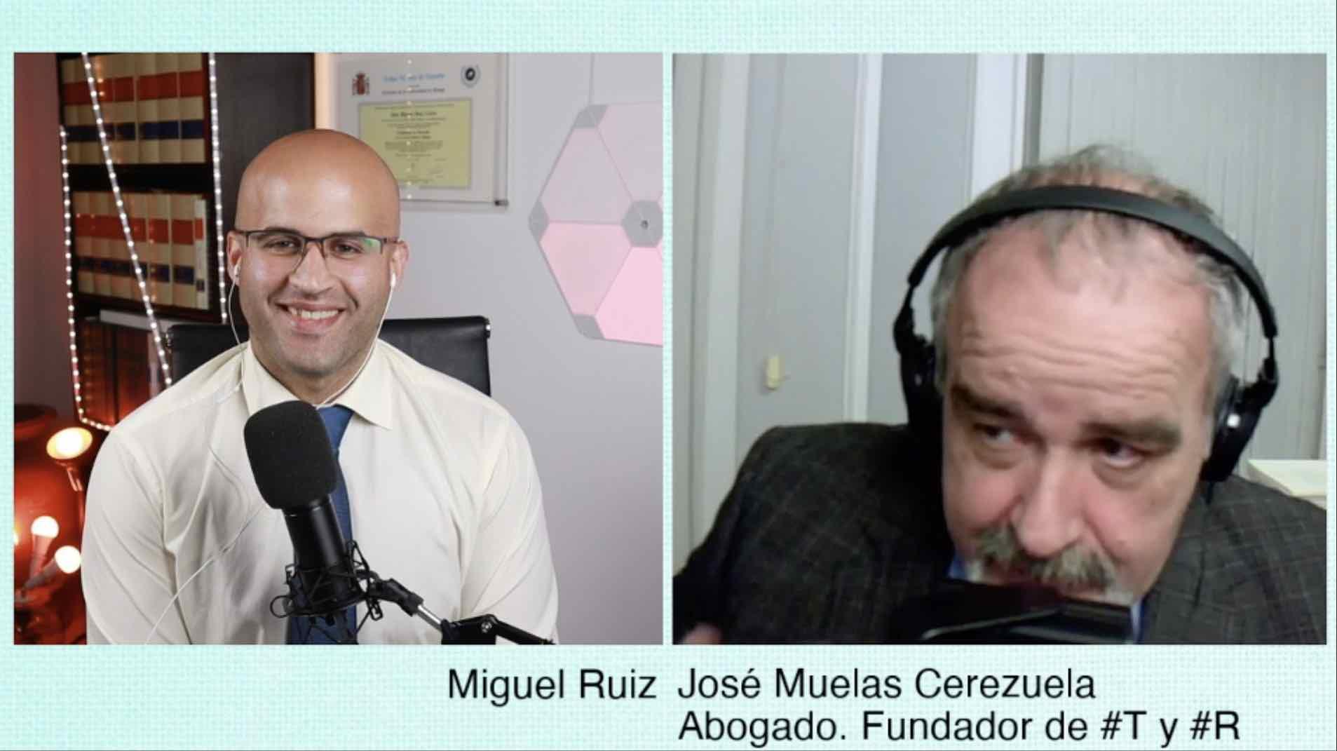 José Muelas Cerezuela. Abogado y fundador #R y #T. Exvideccano del Colegio de Abogados de Málaga