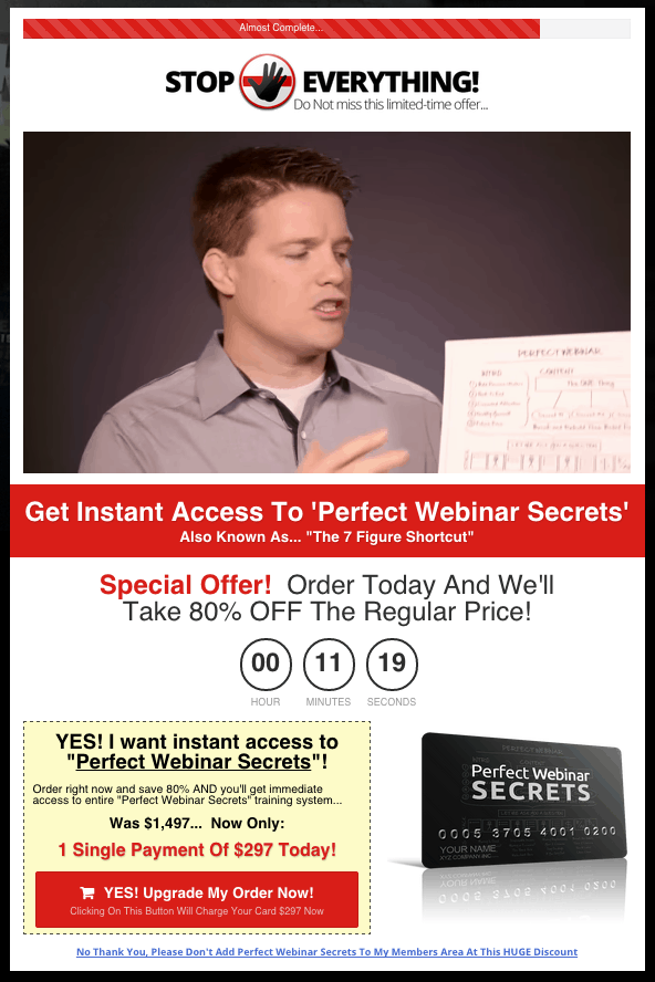 Perfect Webinar Secrets