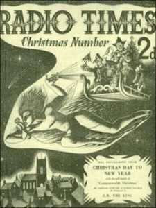 CHRISTMAS 1949 RADIO TIMES COVER