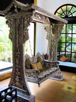 Code 114 Buy Carved Indian Maharaja Wooden Swings Wooden