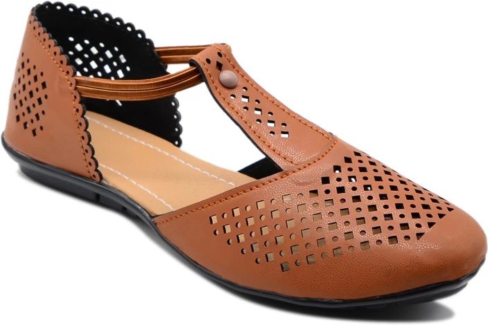 Myra Women Tan Flats