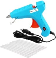 Flipkart SmartBuy Electric 40W Turquoise Hot Melt Glue Gun With 10 Pcs Hot Melt Glue Stick Standard Temperature Corded Glue Gun
