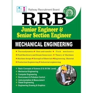 RRB JUNIOR ENGINEERS& SENIOR SECTION ENGINEERS MECH Exam Book