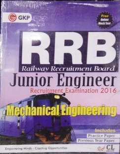 RRB Mechanical Engineering (Junior Engg.) 2016