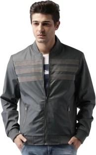 Mast & Harbour Full Sleeve Solid Men's Jacket