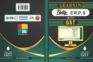 Tally Accounting Tally ERP 9   HINDI COMPUTER   Asian Publishers     Learning Tally ERP 9 with GST   GST Accounting in Tally ERP 9 with Inventory