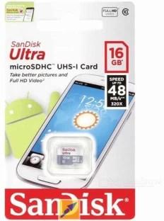 Blue Lotus Ultra 16 GB SD Card Class 10 48 MB/s  Memory Card