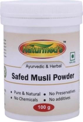 Naturmed'S Safed Musli Powder(100 GRMS) JAR