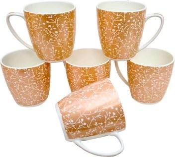 upc pack of 6 bone china set of 6 coffee mugs new modern design fine bone ceramics tableware premium light tea coffee cups set of 6 mugs in a box