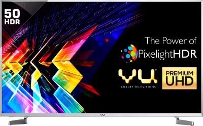 Vu 127cm (50) Ultra HD (4K) LED Smart TV(LEDN50K310X3D Ver: 2017)