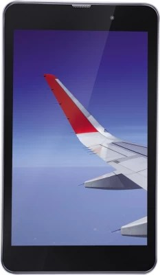 Iball Slide Wings 4GP 16 GB 8 inch with Wi-Fi+4G(Silver Chrome)