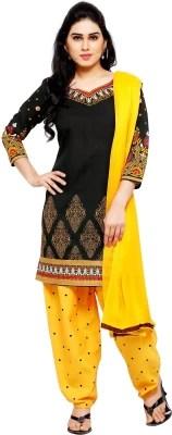 Anugrah Cotton Floral Print Salwar Suit Dupatta Material