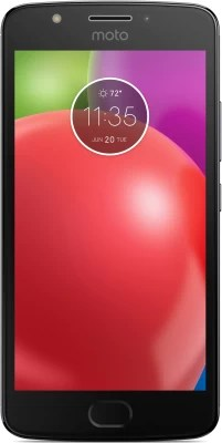 Moto E 4th Gen (Iron Gray with Black TP, 16 GB)(2 GB RAM)