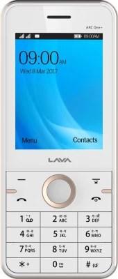 Lava ARC One Plus(White Gold /Gold)