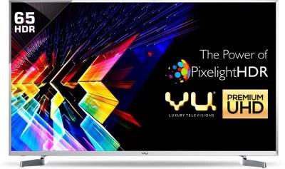 Vu 164cm (65) Ultra HD (4K) LED Smart TV(LTDN65XT800XWAU3D Ver: 2017)