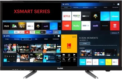 Kodak 80cm (32) HD Ready LED Smart TV(32HDXSMART)