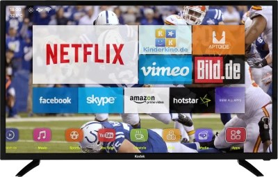 Kodak 102cm (40) Full HD LED Smart TV(40FHDXSMART)
