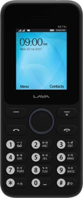 Lava KKT 9S(Black, Dark Blue)