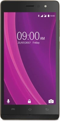 Lava A97 2GB Plus 4G with VoLTE (Black & Gold, 16 GB)(2 GB RAM)