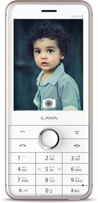 Lava Spark i8(White & Gold)