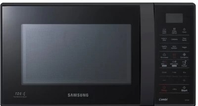 Samsung 21 L Convection Microwave Oven(CE73JD-B/XTL, Full Black)