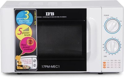 IFB 17 L Solo Microwave Oven(17PMMEC1, White)