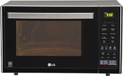 LG 32 L Convection Microwave Oven(MJ3296BFT, Black)