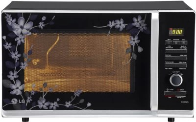 LG 32 L Convection Microwave Oven(MC3283PMPG, Black Paradise Floral)