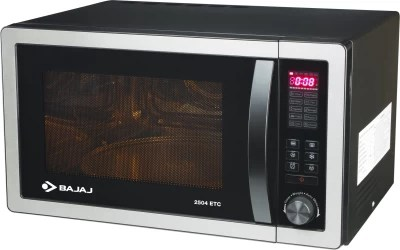 Bajaj 25 L Convection Microwave Oven(2504ETC, Silver Grey)