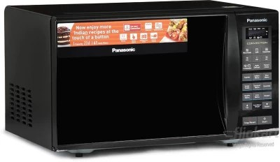 Panasonic 23 L Convection Microwave Oven(NN-CT353B, Black Mirror)