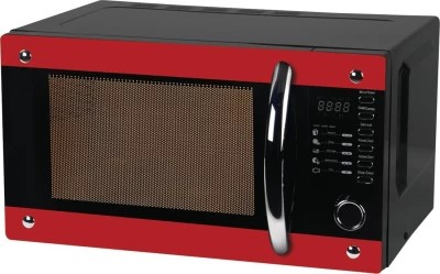 Haier 20 L Convection Microwave Oven(HIL2001CBSH, Black Red)