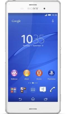 Sony Xperia Z3 (White, 16 GB)(3 GB RAM)