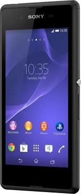Sony Xperia E3 (Black, 4 GB)(1 GB RAM)