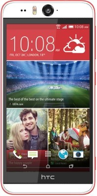 HTC Desire Eye (Coral Red, 16 GB)(2 GB RAM)