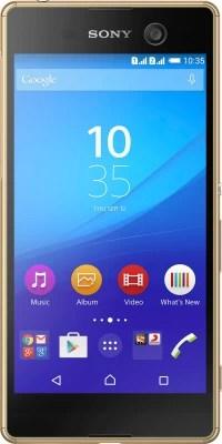 Sony Xperia M5 Dual (Gold, 16 GB)(3 GB RAM)