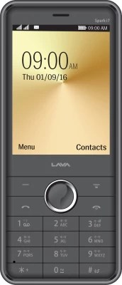 Lava Spark i7(Black and Grey)