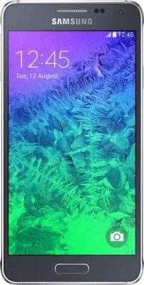 Samsung Galaxy Alpha (Charcoal Black, 32 GB)(2 GB RAM)