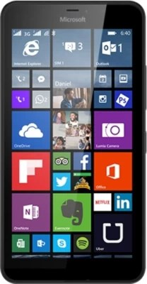 Microsoft Lumia 640 XL (Black, 8 GB)(1 GB RAM)