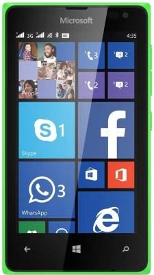 Microsoft Lumia 435 (Bright Green, 8 GB)(1 GB RAM)