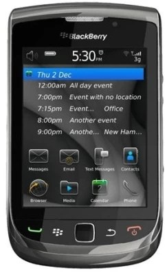 Blackberry Torch 9800 (Black, 4 GB)