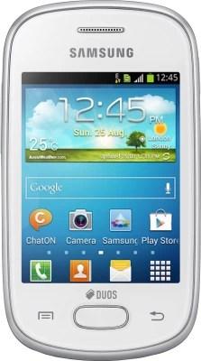 Samsung Galaxy Star (Ceramic White, 4 GB)(512 MB RAM)