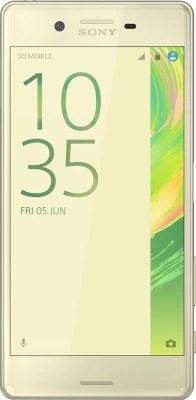 Sony Xperia X Dual Sim (Lime Gold, 64 GB)(3 GB RAM)