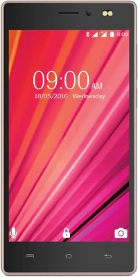 Lava X17 4G with VoLTE (Black & Gold, 8 GB)(1 GB RAM)
