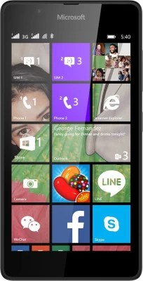 Microsoft Lumia 540 (Black, 8 GB)(1 GB RAM)