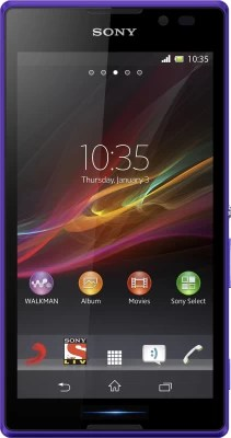 Sony Xperia C (Purple, 4 GB)(1 GB RAM)