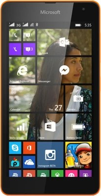 Microsoft Lumia 535 DS (Bright Orange, 8 GB)(1 GB RAM)
