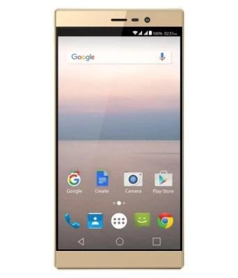 Panasonic Eluga A2 (Metallic Gold, 16 GB)(3 GB RAM)
