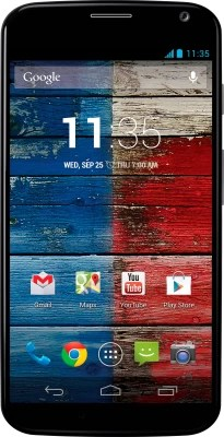 Moto X (Black/Blue, 16 GB)(2 GB RAM)