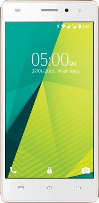 Lava X11 4G (White & Gold, 8 GB)(2 GB RAM)